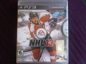 You could win NHL13 for PS3, with the Murph On Ice Playoff contest!