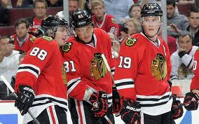 Kane, Hossa & Toews will be a handfull for Detroit. Photo Courtesy - blackhawks.nhl.com