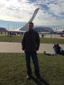 Murph in Sochi Olympic Park!