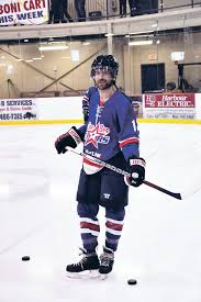 Ryan enjoyed his time playing Senior Hockey in Newfoundland after his NHL days. Photo Courtesy - the telegram.com