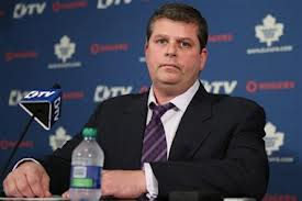 Dave Nonis replaces Brian Burke as the Leafs GM. Photo Courtesy - globalnews.ca