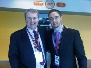 It was a pleasure to broadcast the games with Dave Simms.