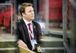 Christiansen at home at the rink. Photo Courtesy - IIHF.com
