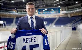 Sheldon Keefe is the new coach of the AHL Toronto Marlies. (Courtesy mapleleafs.com)