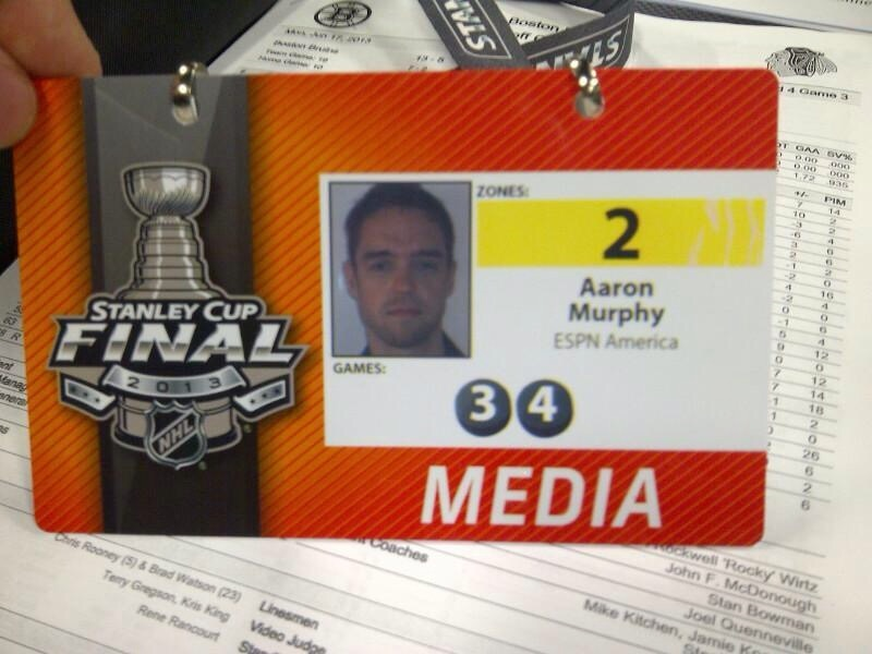 Covering the Stanley Cup is a fantastic honour for any broadcaster.