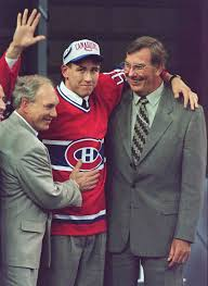 Terry Ryan on his draft day 20 years ago. Photo Courtesy - betonhockey.com